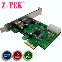 Wholesale USB Card USB3 expansion card PCI E switch to USB3 Card NEC chip