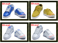 Wholesale DHL Cheap Mens Fashion Leisure Sport Casual Sneaker Shoes Men Skateboard Shoe Boots