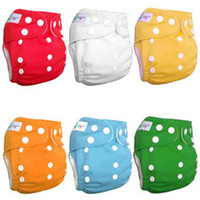 Wholesale Baby diaper cover with fibre Baby Cloth nappy Baby cloth diaper V1885