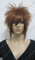 Wig China (Mainland) Short Free Shipping 1pc Katekyo Hitman Reborn sawada tsunayoshi Cosplay Wig