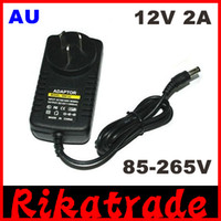 Wholesale AC V DC V A Converter Power Adapter Supply US EU AU UK Plug