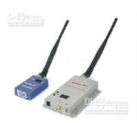 wireless video transmitter receiver - CCTV Wireless Transmitter and Receiver kit ghz CH MW AV Video M security freeship S306