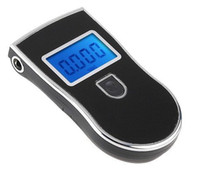 Wholesale Prefessional Police Digital Breath Alcohol Tester Breathalyzer Dropshipping