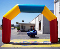 Wholesale Fast custom new Inflatable Arch printed Advertising inflatable arch by express