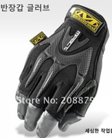 Wholesale 5 sport Mechanix M Pact Tacticle Riding wear Half finger gloves