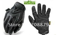 Wholesale 5 sport Mechanix M Pact tacticle riding wear gloves Black Khaki