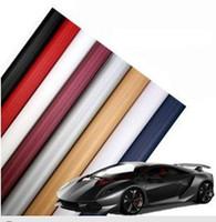 Wholesale 90M High quality D Carbon Fiber film Vinyl Car Sticker Carbon fiber sheet Guaranteed