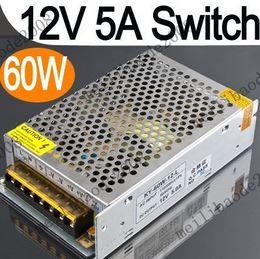 20pcs E33 12V 5A 60W cambie la fuente de Alimentación del Controlador Para Tira de Luces LED de Luz