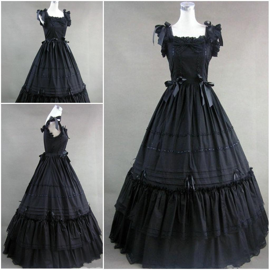 2016 New Style Lolita Cosplay Costume Custom Made Actual