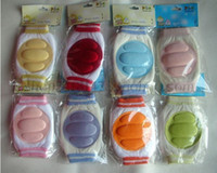 Wholesale New DU DU KID Elbow Knee Pads Baby Crawling Knee Pad Toddler Elbow Pads Children Safety Accessory