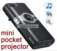 Wholesale mini Projector mini LED Projector LCoS Display USB AV IN