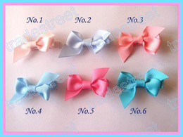 Free shipping new style 65pcs 2.5'' mix colors Girls Boutique hair clips wing hair bows