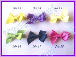 Free shipping new style 250pcs 2.5'' mix colors Girls Boutique hair clips wing hair bows