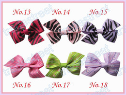 Free shipping new style 540pcs 2.5'' mix colors Girls Boutique hair clips wing hair bows