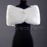 faux fur - Beautiful Bead Faux Fur GK Wedding Bridal Wrap Shawl Retail CL2616