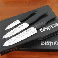 Wholesale Ceramic Chef Knives Anti sliding Handle With In One Set Inch inch inch Kitchen Knives
