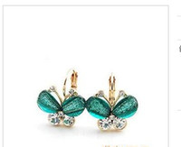 Earrings Beautiful memories of the butterfly adorn article d...