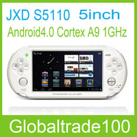 Wholesale 5 Game Player Console Tablet PC JXD S5110 Capacitive Screen OTG HDMI Android Wifi GB