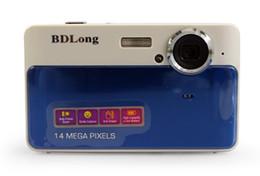 12MP Digital Camera Video Camera 8XZoom 2.7 TFT LCD Screen blue color DC560