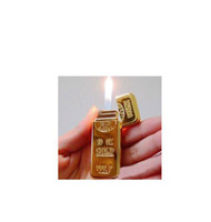 gas - 20PCSUltra thin delicate BRIC lighter creative lighter lighter green