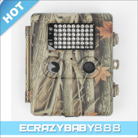 Wholesale D120 MP Digital Hunting Trail Camera quot Viewing TFT Screen with No Flash infrared LED Lights
