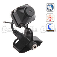 Wholesale Mini GHz quot CMOS Wireless Color Security Pinhole Camera Infrared Night Vision Audio