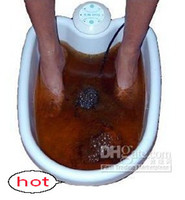Wholesale NEW ION IONIC DETOX FOOT BATH CLEANSE SPA MACHINE TUB in stock aa67