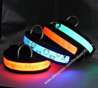 Wholesale CHINA manufacturer new style led pet collar fiber collars dog collar new fashion pet co