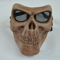 Wholesale Emirates M03 Skull Warrior Mask tactical helmet Half full Face Mask skeleton mask
