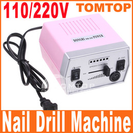 Wholesale Electric Nail Art Drill Machine File Improved Overheat Pedicure Vibration Manicure Set H4972US EU