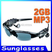 Wholesale Sunglasses Mp3 Player with Bluetooth GB GB Headset