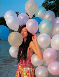 Wholesale New Hot inch Latex Decorative Balloons For Wedding Birthday party Latex balloons color
