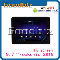 Wholesale 9 inch RK2918 GHz OEM U9GT2 Android tablet PC GB RAM GB ROM Dual camera IPS capacitive