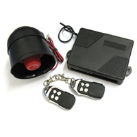 Wholesale 1 Way Car Alarm Security System with Remote Control With smart LED indicator