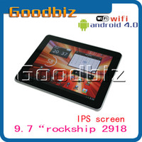 Wholesale hot selling inch RK2918 Android tablet PC GB RAM GB ROM Dual camera IPS capacitive