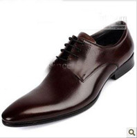 Wholesale New men s shoes wind fashionable luxurious assembling a business man pointed leather shoes asdf
