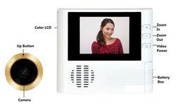 Wholesale Peepole Visual Door Viewer inch LCD Player HQS New x Digital Zoom