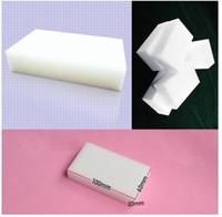 Wholesale Hot Sale Magic Sponge Eraser Melamine Cleaner multi functional sponge for Cleaning100x60x20mm