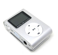 Wholesale Mini Clip MP3 Player with LED Screen Gift MP3 with TF Card slot support GB GB GB GB