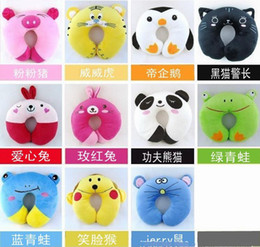 Wholesale Embroidery Children neck support pillow n toys kids neck Guard rug infant pillows baby plush toy
