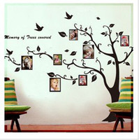 Wholesale Hot sale Print type tree wall tattoo room sticker DIY Decoration Fashion can remove Wall Sticker