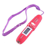 Wholesale Pen Shape Non Contact IR Infrared Remote Sensing Digital Thermometer C C LCD Gift Box
