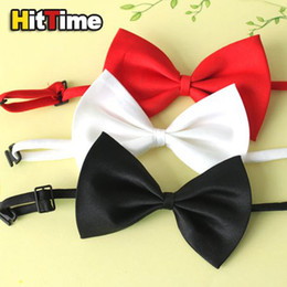Wholesale 200Pcs Cat Adjustable Collar Bowtie Pet Dog Necktie Bow Tie