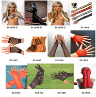 Wholesale Sexy New Female Classic fashion Opera Gloves Set Arbitrary choice of five A variety of colors