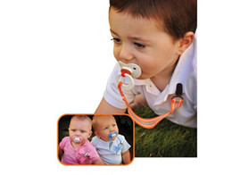 Wholesale Anti pacifier out with baby pacifier clip pacifier chain to prevent the pacifier from falli pc