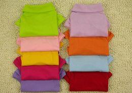 Fashion Polo chien T-shirt chien cavalier animal vêtements chien clothers 6 couleurs
