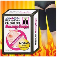 Wholesale Slim Thigh Massage Shaper Fat Buster Calories off slimming belt with colorful box pairs