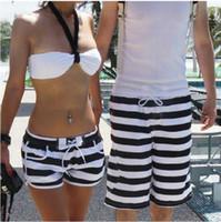 Unisex board shorts - New Fashion Lovers Zebra SURF BOARD SHORTS BEACH SWIM PANTS