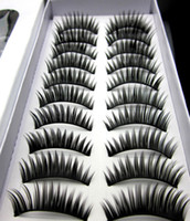 Wholesale New Fashion Thick Long False Eyelashes Eyelash Eye Lashes Top Different Style Dense Black Thread False Eyelashes XJ8