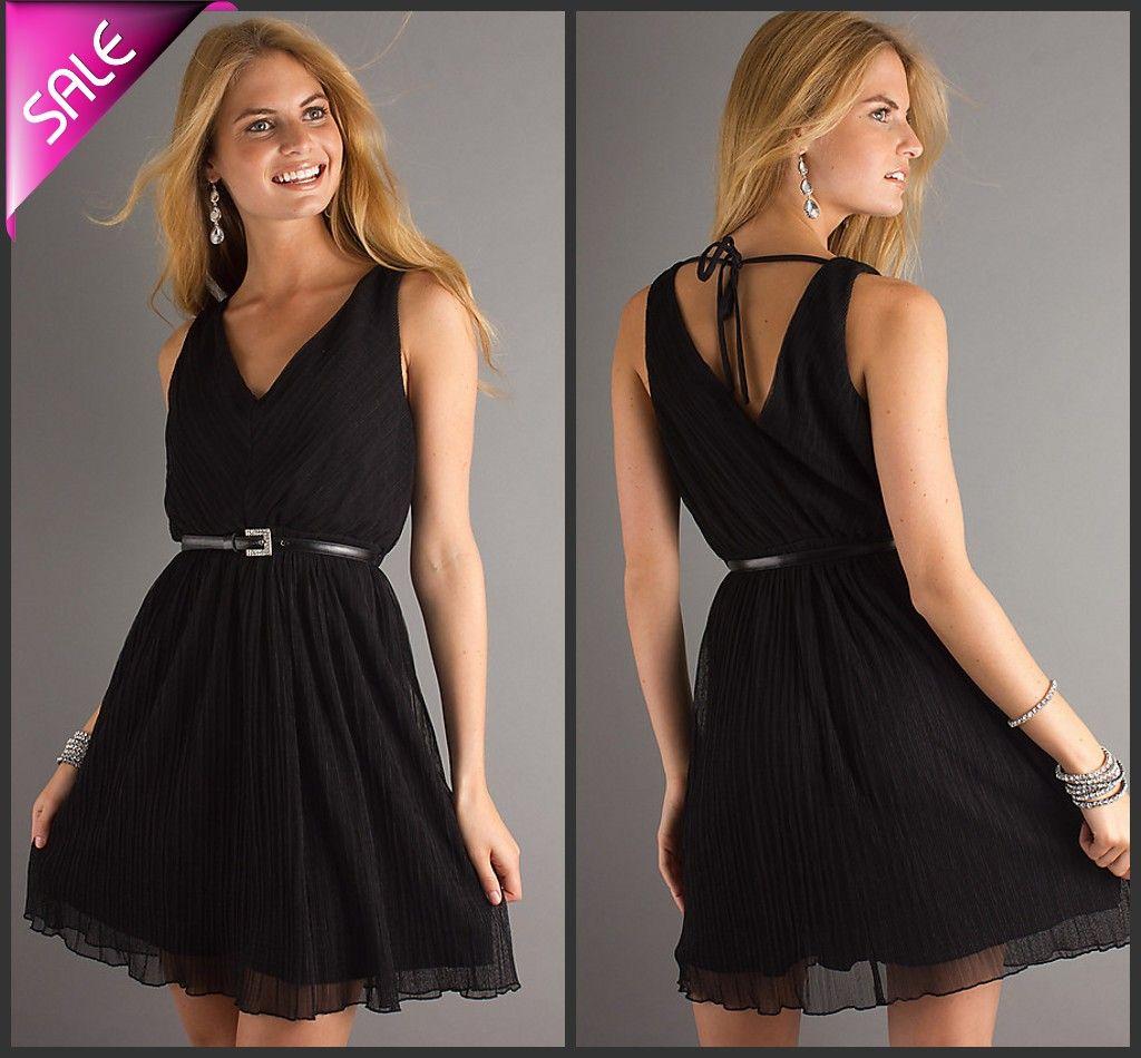 Little Black Club Dress
